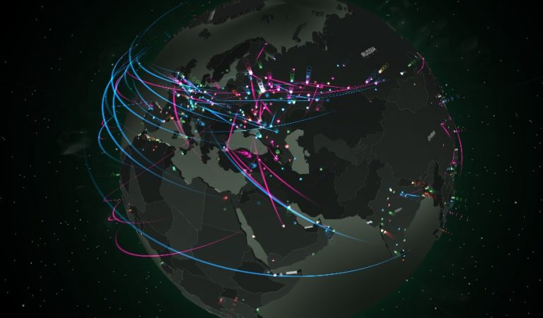 Siber Saldırı Olaylarını Anlık Gösteren En İyi 10 Saldırı Haritası